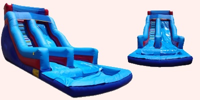 18 foot double drop  Waterslide