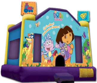 Picture of Dora Standard Jumping Castle Jumpmaxx