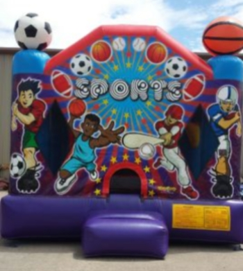 Picture of Sports Fun Jumping Castle Jumpmaxx Tucson